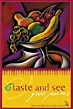 img - for O Taste and See: Food Poems book / textbook / text book