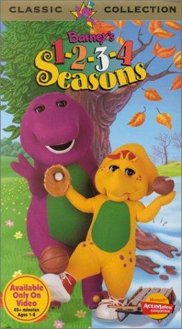Amazon com: Barney - 1-2-3-4 Seasons [VHS]: Exclusive-Barney