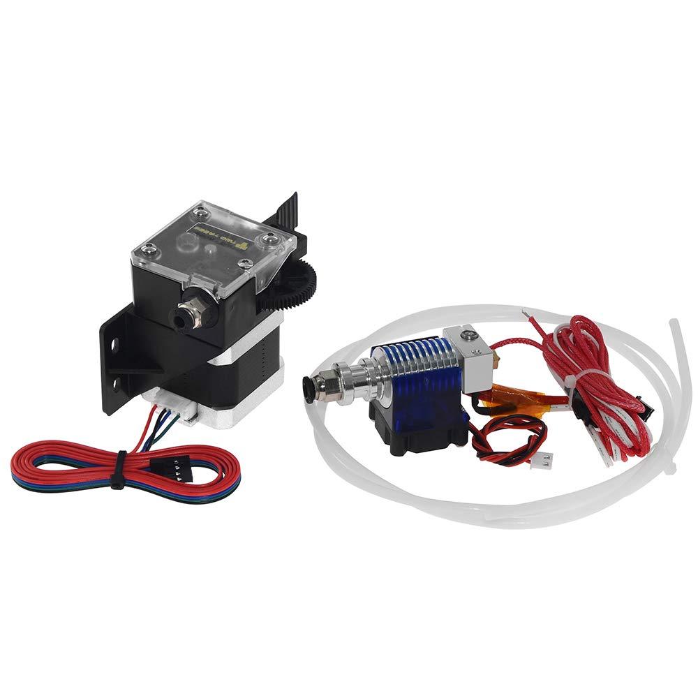 UsongShine 3D-Drucker Titan-Extruder nema 17 Extruder-Komplettset mit NEMA-Schrittmotor V6 fü r die Unterstü tzung von 3D-Druckern Direktantrieb und Bowdenhalterung