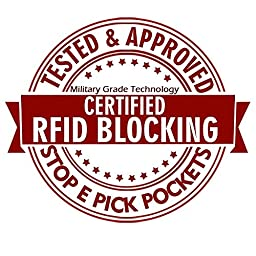 Qubel Men\'s RFID Blocking Wallet - Super Slim Design - Genuine Leather - Excellent Credit Card Protector