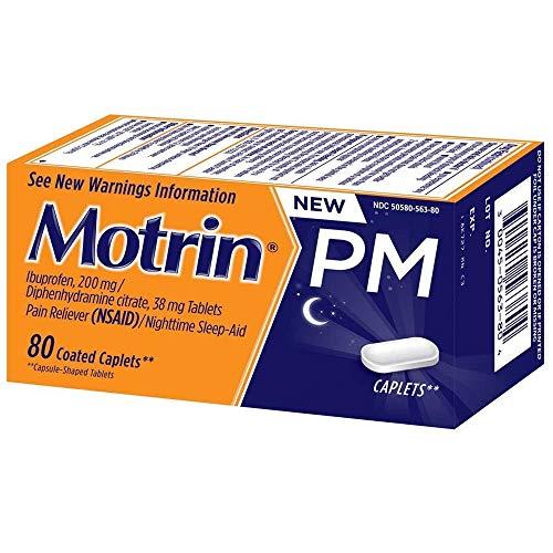 (Motrin Ib Pm Caplet Size 80ct Motrin Ib Pm Caplet 80ct )