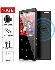 16GB Reproductor MP3 con Bluetooth 4.2, Reproductor de Música Audio Digital Reproductor de Música con Sonido sin Pérdida Portátil con Radio FM / Imagen / E-Book, Soporte Expandible hasta 64G