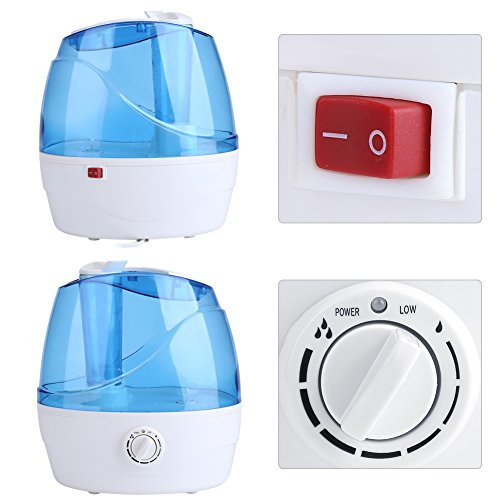 Cool Mist Humidifier, 2.2L Adjustable Air Humidifier Mist Maker Automatic Shut-off Premium Humidifying Unit for Yoga Spa Home Office Babies, Quiet Operation by Estink (Image #2)