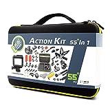 DeKaSi Accessories Kit Case for Gopro HERO 5/4/3/SJ4000/SJ5000/SJ6000 (55+in1)