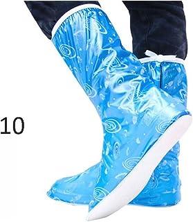 RioHouse r/éutilisable Housse de Chaussures /étanche antid/érapant Chaussures Housse Pluie et Neige m/ét/éo ext/érieur /équipement de Protection pour Homme et Femme
