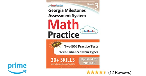 Georgia Milestones Assessment System Test Prep 3rd Grade