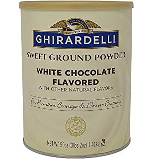 Ghirardelli Sweet Ground White Chocolate Flavor Powder, 3.12 lbs. (B0018GDSH2) | Amazon price tracker / tracking, Amazon price history charts, Amazon price watches, Amazon price drop alerts