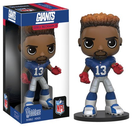 Funko Wobbler  Nfl   Odell Beckham Jr  Action Figure