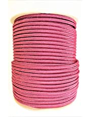 """SGT KNOTS Braided Polyester Stiff Halter Cord for Equines, Arborists, Climbing, Hiking, Crafting (1/4"""" (6mm), 25ft, 50ft, 100ft, 300ft)"""