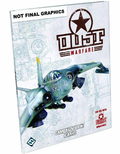 """Dust Warfare: Campaign Book """"Icarus"""" Game"""