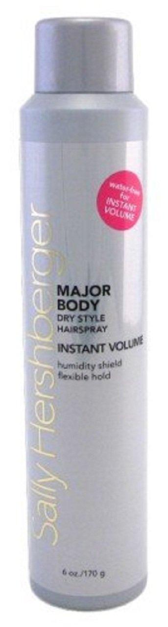sally hershberger major body dry style hairspray instant volume 6.0 oz