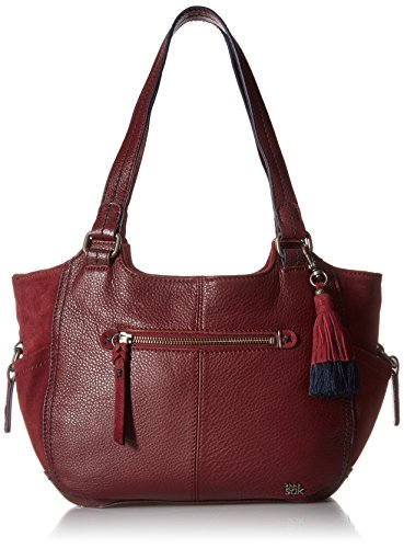 The Sak Kendra Satchel, Cabernet Block