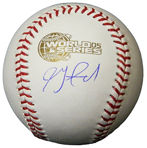 - Jon Garland Signed Rawlings Official 2005 World Series Baseball