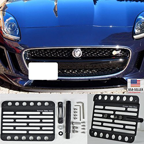 2015 Jaguar Prices: For 2015-Up Jaguar F Type Front Tow Hook License Plate
