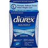 Best Water Pills For Weight Losses - Diurex Aquagels Soft Gel Water Capsules, 20 Count Review