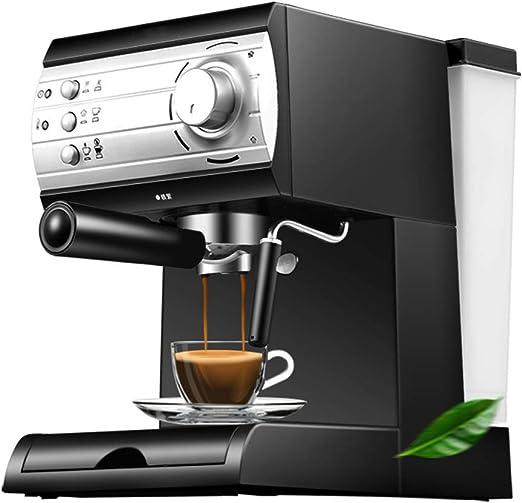 20 bar espresso italiano Cafetera semiautomática Cafetera máquina de capuchino latte macchiato Mocha leche vaporizador: Amazon.es: Hogar