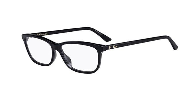 d2b41d1d12ae5 Amazoncom New Christian Dior Montaigne 56 0807 Black Eyeglasses
