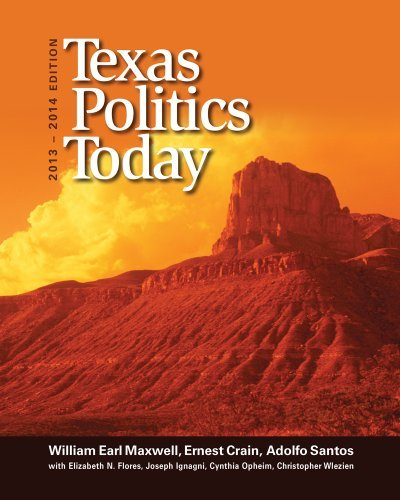 Download By Adolfo Santos - Texas Politics Today 2013-2014 (16th Revised edition) (1.1.2013) ebook