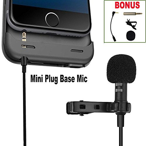 Upgrade Lavalier Condenser Mics Clip-on  - Video Recorder Base Shopping Results