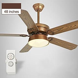 FJH Luci ventilatore a soffitto Ristorante Soggiorno Ventilatore a soffitto Casa Fan Lampadario Fan Luci Ristorante Ventilatore a soffitto Garanzia di qualità Motore di qualità Ventilatore in legno Mu