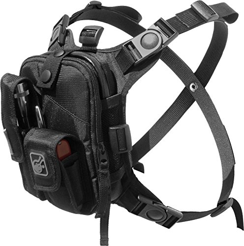 Covert Escape RG(TM) Flashlight/Tools/Camera/GPS/Cycling Chest Pack by Hazard 4(R) by HAZARD 4