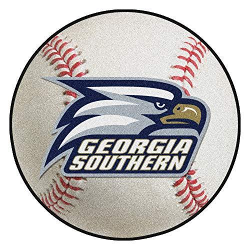 FANMATS NCAA Georgia Southern University Eagles Nylon Face Baseball Rug