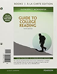 Guide to College Reading, Books a la Carte Edition Plus MyReadingLab with eText - Access Card Package (10th Edition)