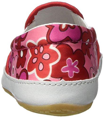 Living Kitzbühel Slip-on mit Blumenmuster Mädchen Flache Hausschuhe Mehrfarbig (pink 340)