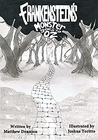 book cover of Frankenstein\'s Monster Goes to OZ