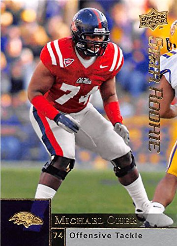 174424d1 Michael Oher football card (Ole Miss Baltimore Ravens Blind Side ...