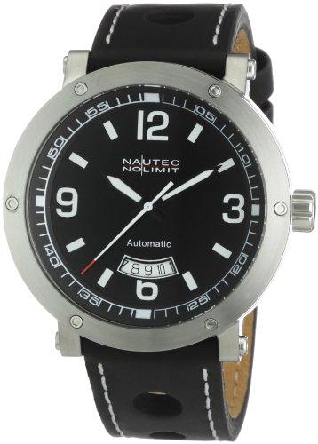 Nautec No Limit Men's Shamal Watch SM AT/LTSTBK-WH