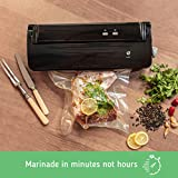 Nutri-Lock Vacuum Sealer Bags. 2 Rolls 11x50 and