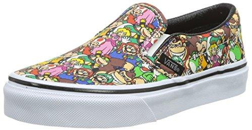 Vans Classic Slip-On, Zapatillas Unisex Niños Multicolor ((Nintendo) Super Mario Bros/multi)