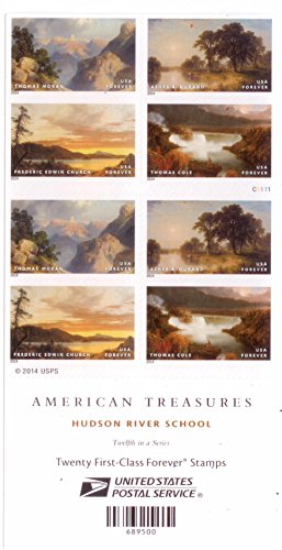 Hudson River School Forever Stamps Booklet of 20 by USPS Photo #3