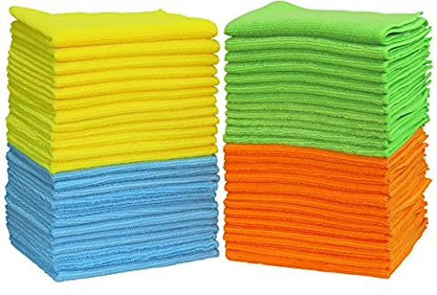 50 Pack - SimpleHouseware Microfiber Cleaning Cloth (Y Clothes)