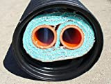 1'' 200' Insulated Outdoor Furnace Oxygen Barrier 3 Wrap Pex-Al-Pex Pipe