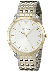 Bulova Mens 98A121 Classic two tone round Watch