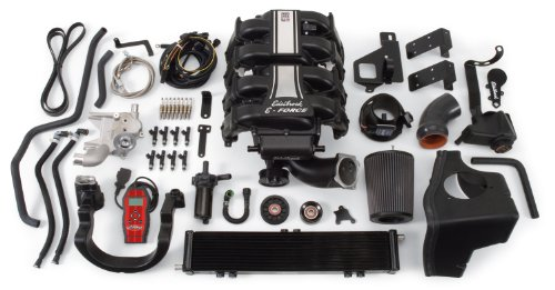 Edelbrock EDL1581 E-Force Street Legal Supercharger Kit for Ford (Ford F-150 Supercharger)