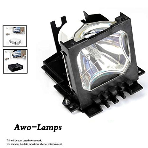 AWO SP-LAMP-016 Compatible Bulb Inside Replacement Lamp with Housing for INFOCUS LP850 LP860 Ask C450 C460 PROXIMA DP8500x