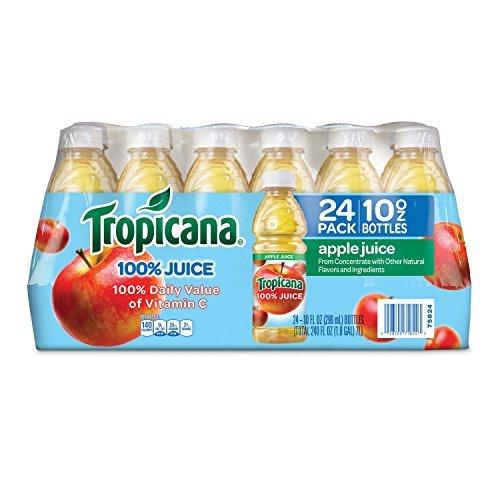 (Tropicana 100% Apple Juice - 24/10 oz. bottles by)