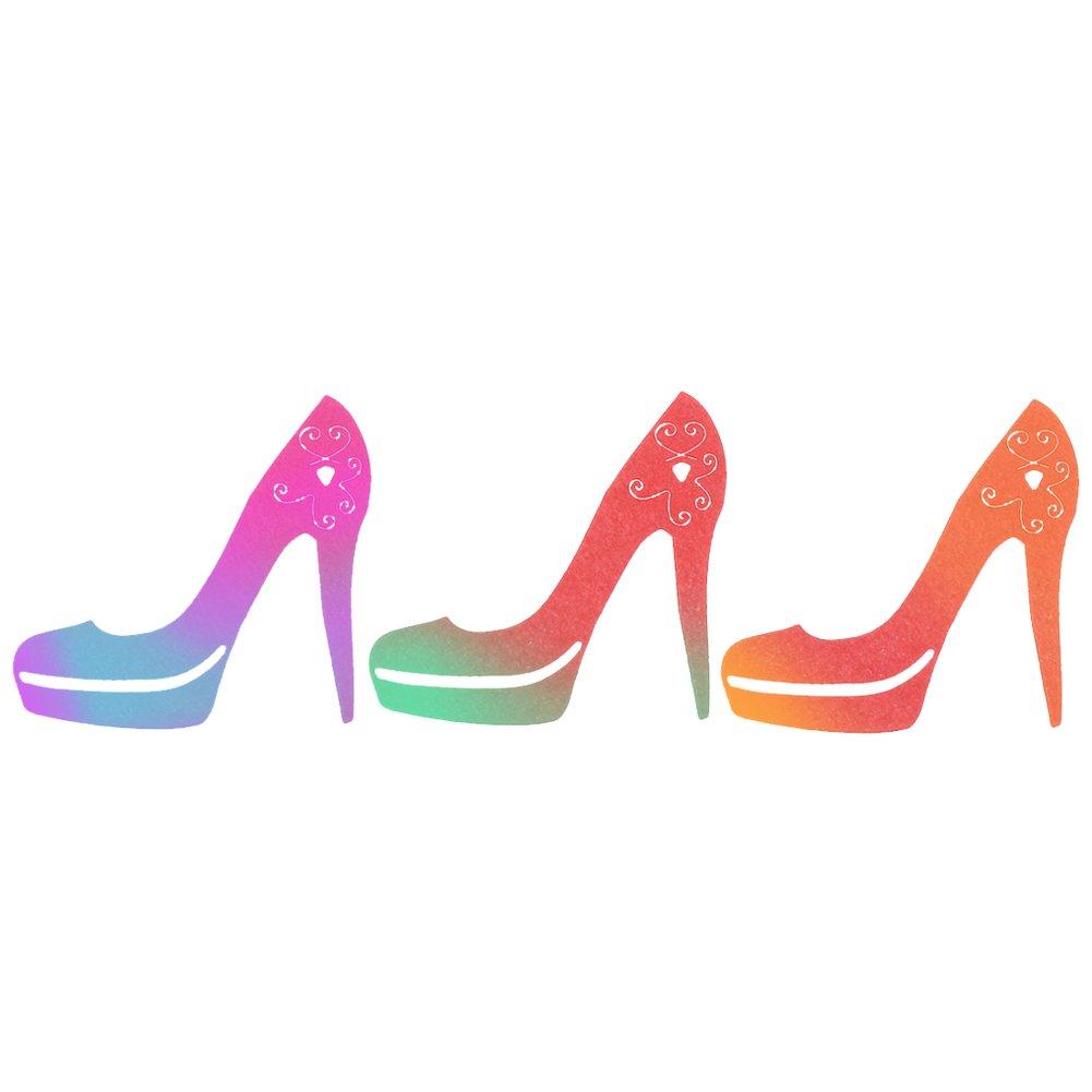 Demiawaking High Heel Schuh Stanzformen Scrapbooking Metall