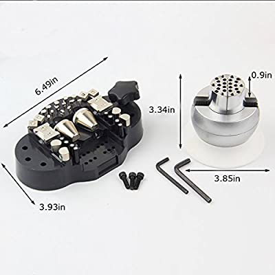 3 Inch Engraving Block Ball Vise Key Setting Jewelry With 30 pcs Attachment (Item # 020253)