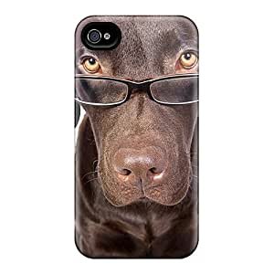 High Grade SashaankLobo Cases For Iphone 6 - Dog With Glasses