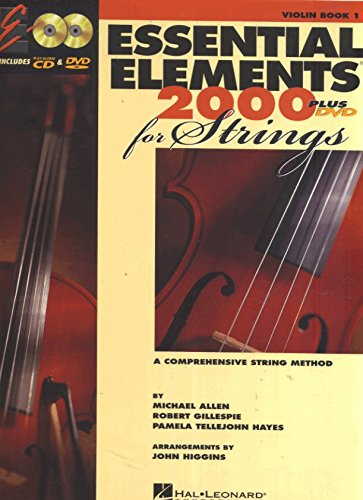Price comparison product image Essential Elements 2000 for Strings: Violin - Book 1 CD / DVD
