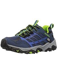 Merrell Boy's Ml-B Moab Low Waterproof Hiking Shoes, Navy/Blue