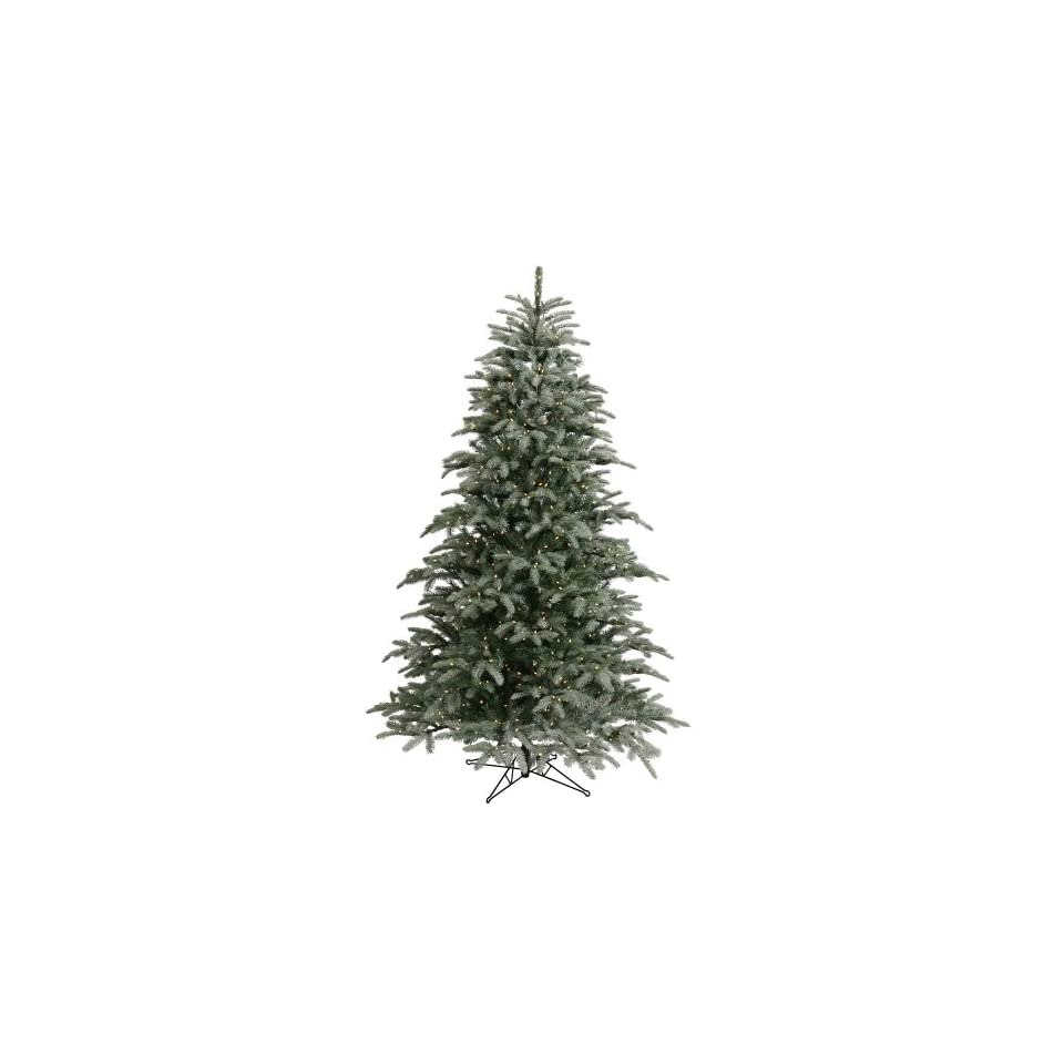 7.5 x 58 Frasier Fir Christmas Tree 750 Dura Lit Frosted Clear Lights