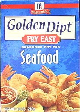 Golden Dipt Mix Fry Seafood