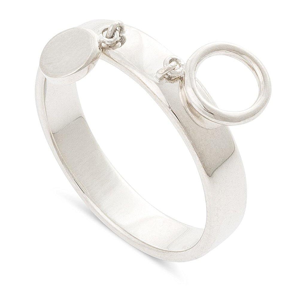 Nathis Lora Circle Charm Drop/Ring