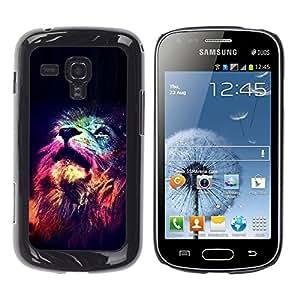 For Samsung Galaxy S Duos / S7562 Case , Universe Stars Deep Meaning Africa - Diseño Patrón Teléfono Caso Cubierta Case Bumper Duro Protección Case Cover Funda