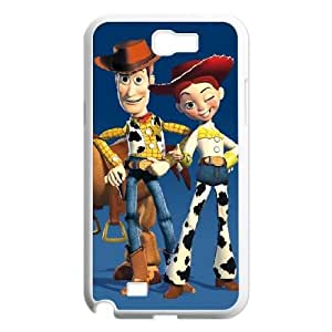 Funny Toy Story 3 Samsung Galaxy N2 7100 Cell Phone Case White Cool Witty Humor Maverick CYGJ6315811634